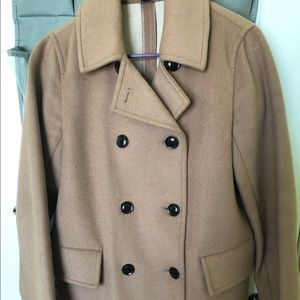 Super cute light brown nice coat!